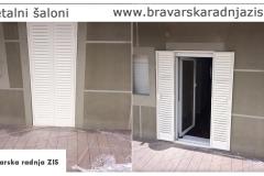 Metalni šaloni - metalne žaluzine - Bravarska Radnja ZIS
