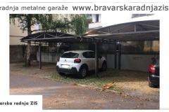 Izgradnja metalne garaze - Bravarska Radnja ZIS