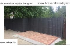 Izrada metalne kapije Beograd - Bravrska radnja ZIS