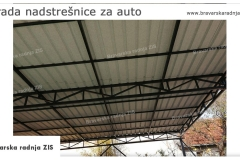 Izrada nadstrešnjice za auto  Beograd - Bravarska Radnja ZIS