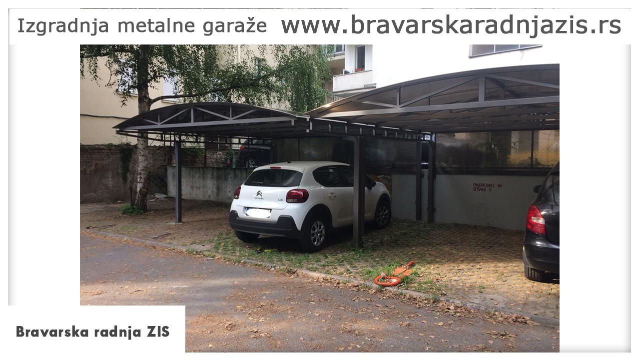 Izgradnja metalne garaže - Bravarska Radnja ZIS