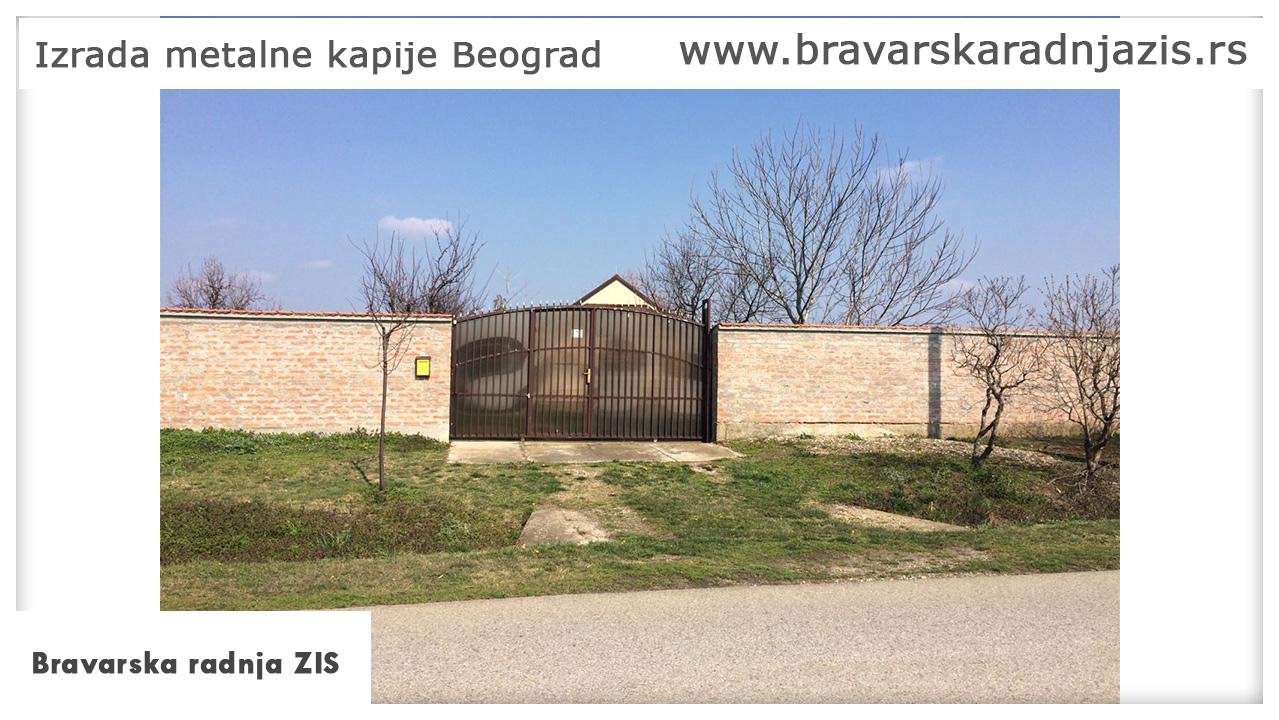 Izrada metalne kapije Beograd - Električar Beograd Tim