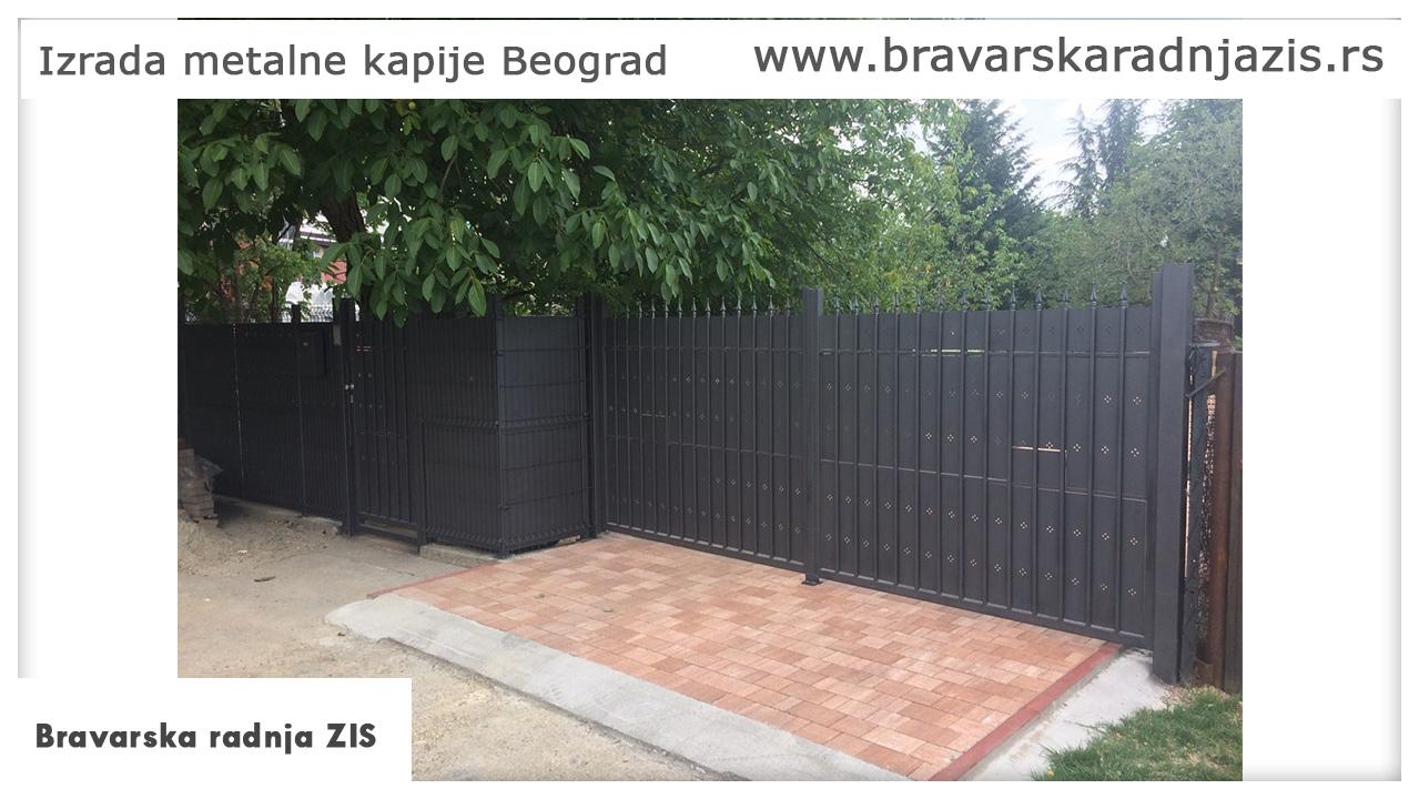 Izrada kapije Beograd