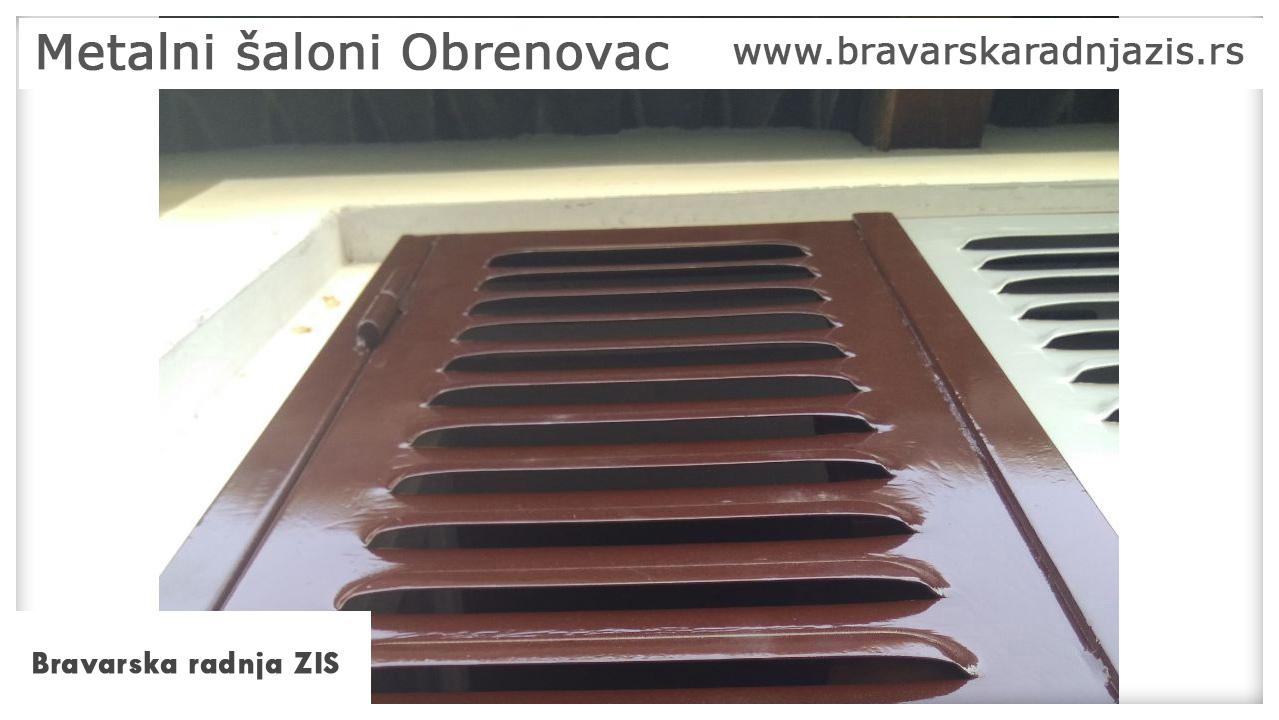 Metalni šaloni Obrenovac - Bravarska radnja ZIS