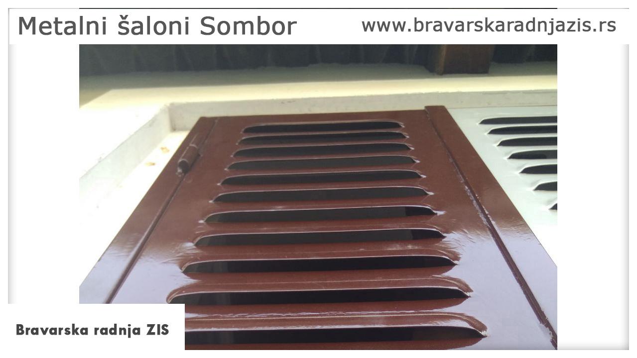 Metalni šaloni Sombor - Bravarska radnja ZIS