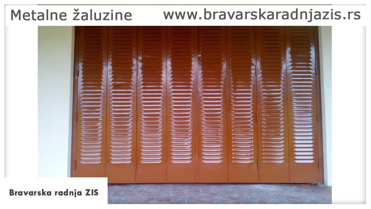 Metalne žaluzine - Bravarska radnja ZIS