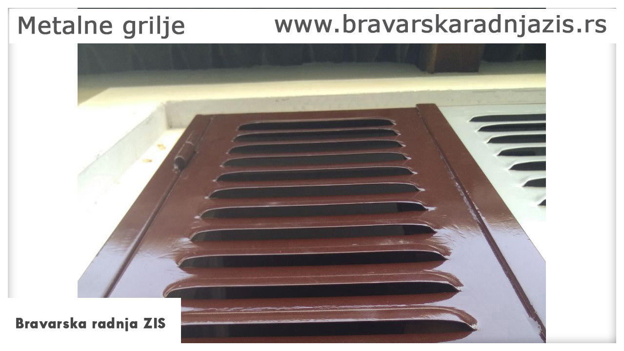 Metalne grilje - Bravarska radnja ZIS