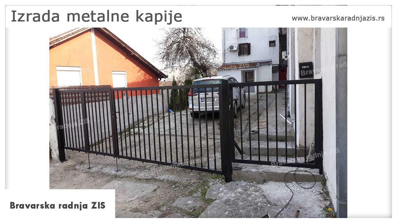 Izrada metalne kapije Beograd